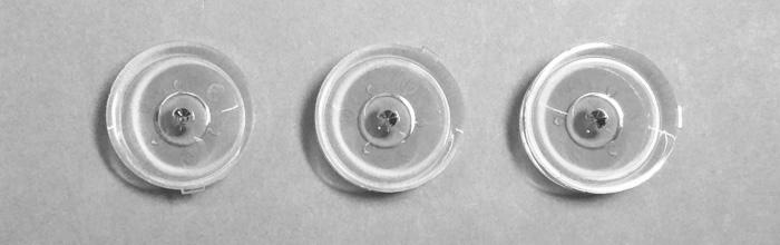 Оптическая рассеивающая линза для светодиодных планок led телевизоров LG