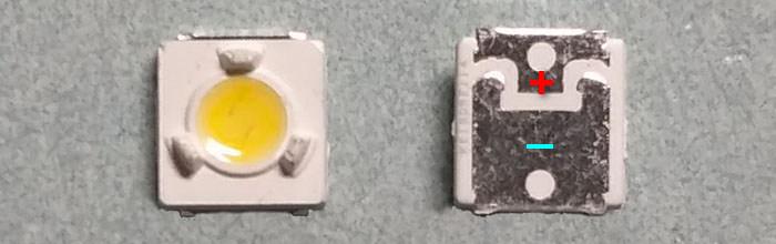 Светодиоды подсветки матрицы Lumens led 3535 (3537) U smd 3V