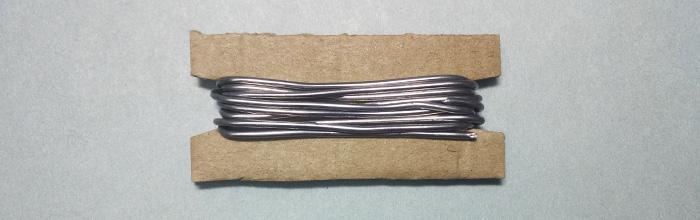 Припой с флюсом ПОС-61 Sn60Pb40 (1,5мм 1м) для пайки