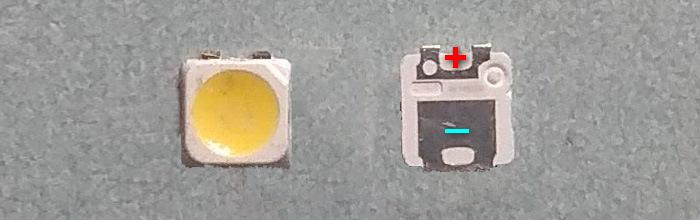 Светодиоды подсветки матрицы Samsung led 2828 smd 3V