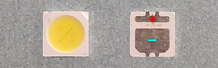 Светодиоды подсветки матрицы Seoul led 3535 6V 500mA 2W smd