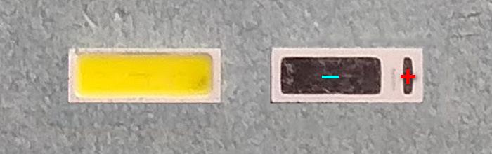 Светодиоды подсветки матрицы Seoul led 4014 6V 150mА 1W smd