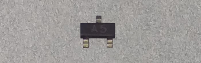 SI2305DS (A5) MOSFET 8V 3,5A P-Channel