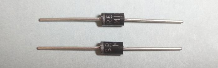 SR5100 5A 100V DO-201 - диод Шотки
