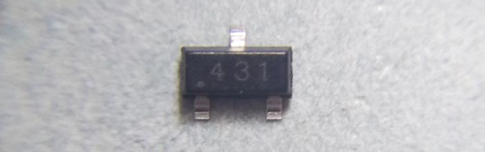 TL431 (SOT-23) - регулируемый стабилитрон
