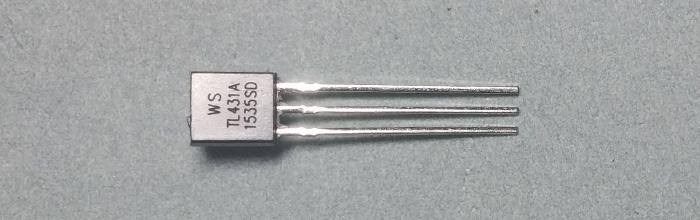 TL431 (TO-92) - регулируемый стабилитрон