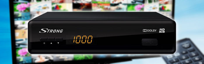 Overview of digital terrestrial tuner set-top box Strong SRT 8530
