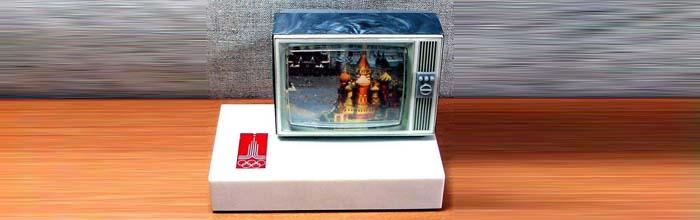Сувенирный радиоприёмник Телевизор