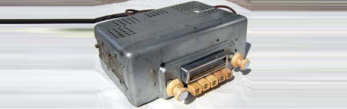 Автомобильный ламповый радиоприёмник А-9