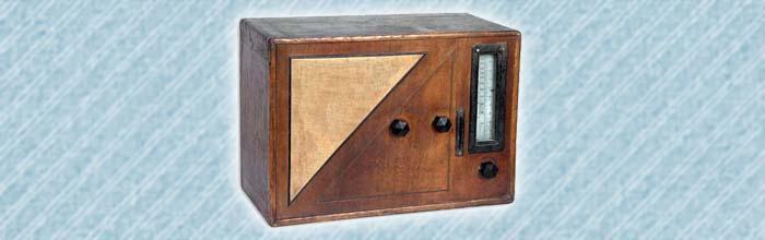 Ламповый радиоприёмник Комсомолец