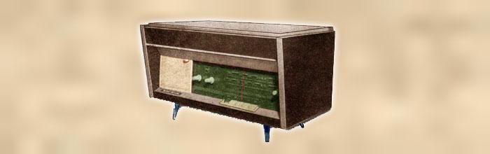 Ангара - сетевая ламповая радиола 1965 года выпуска
