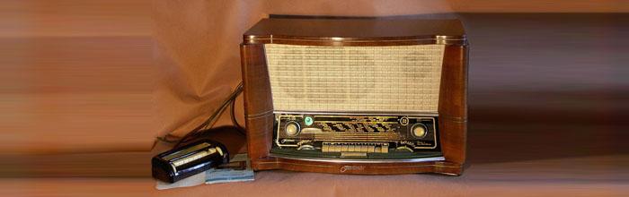 Фестиваль - сетевой ламповый радиоприёмник