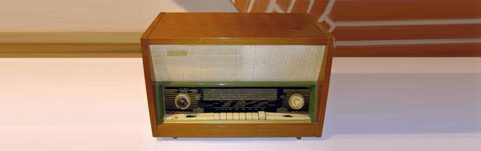 Янтарь - сетевой ламповый радиоприёмник