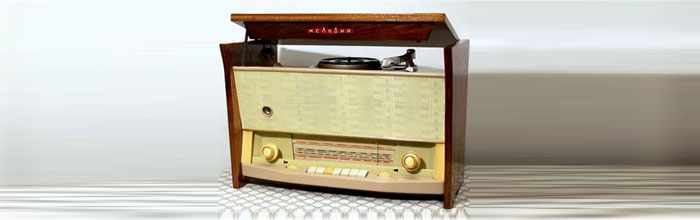 Мелодия (1961 год) - сетевая ламповая радиола
