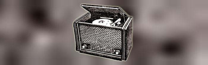 Ока - сетевой ламповый радиоприёмник