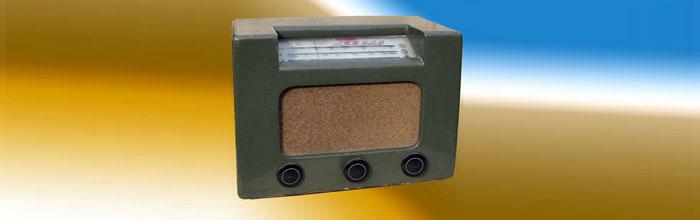 Рекорд - сетевой ламповый радиоприёмник
