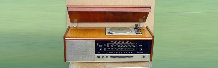 Урал-6 - сетевая ламповая радиола