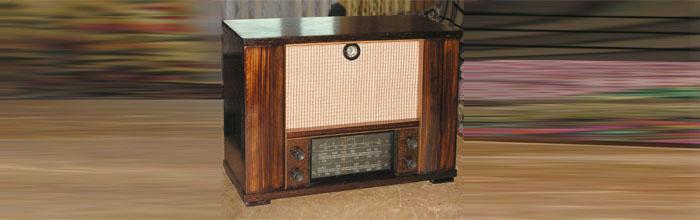 Урал - сетевой ламповый радиоприёмник
