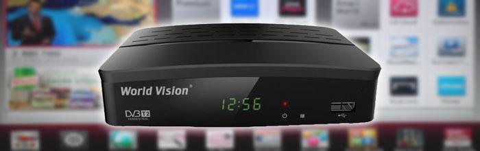 Як підключити інтернет до телевізора через приставку World Vision