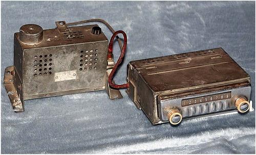 Автомобільний радіоприймач А-8