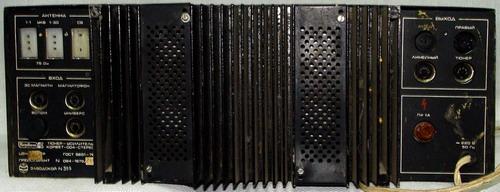 Корвет-004-стерео - задня панель
