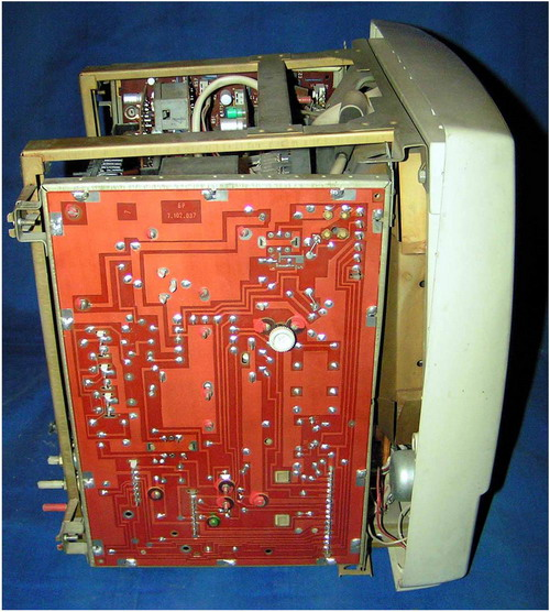 Електроніка Ц-401М - бічна плата