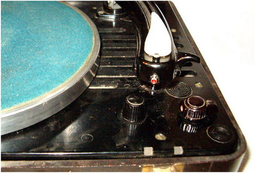 Электрофон УП-2М - управление