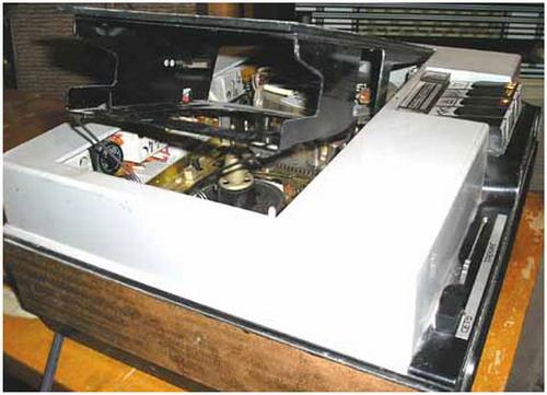 Сатурн-505-відео, Електроніка-505-відео - кассетоприемник
