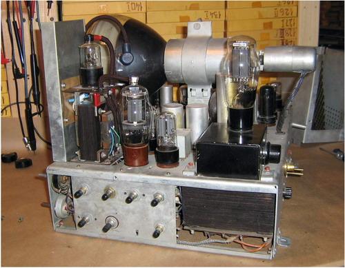 Телевізор КВН-49-1 - вид на схему