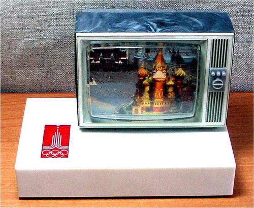 Сувенірний радіоприймач Телевізор