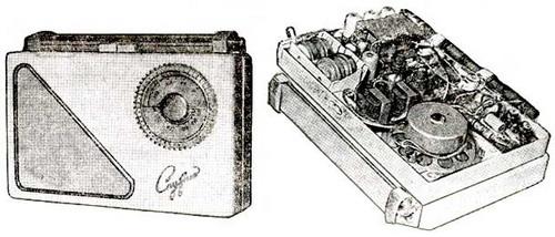 Радіоприймач Супутник - схемотехніка