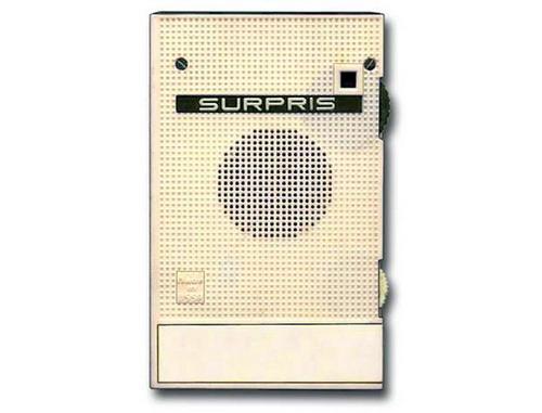 Сувенірний радіоприймач Сюрприз - лицьова панель
