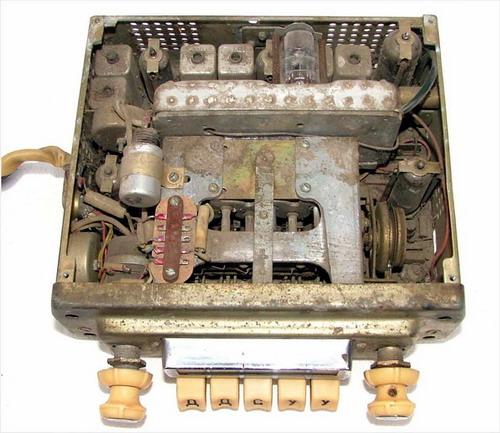Автомобільний приймач А-18, А-18Е - механіка