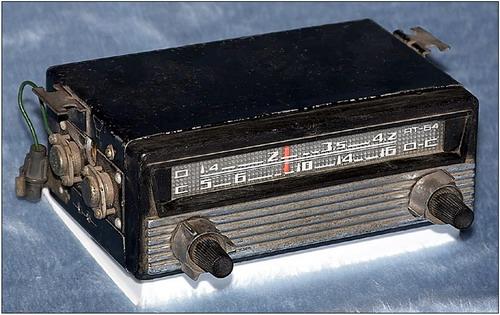 Автомобільний радіоприймач АТ-64