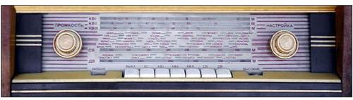 Радіола Ефір - панель радіо