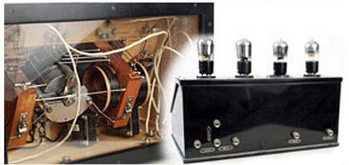 Ламповий батарейний радіоприймач БЧ - схемотехніка