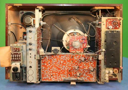 Кольоровий телевізор Електрон-716Д - пристрій