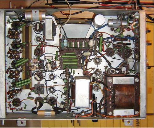 Телевізор КВН-49-1 - радіодеталі