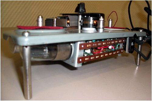 Магнітофон - приставка Хвиля - схемотехніка