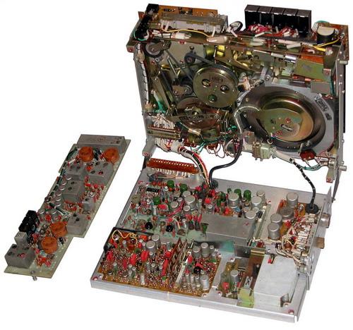 Сатурн-505-відео, Електроніка-505-відео - схемотехніка