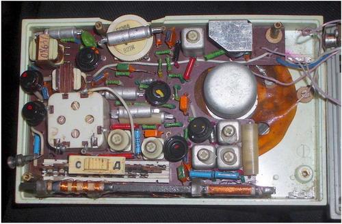 Радіоприймач Сатурн - схемотехніка