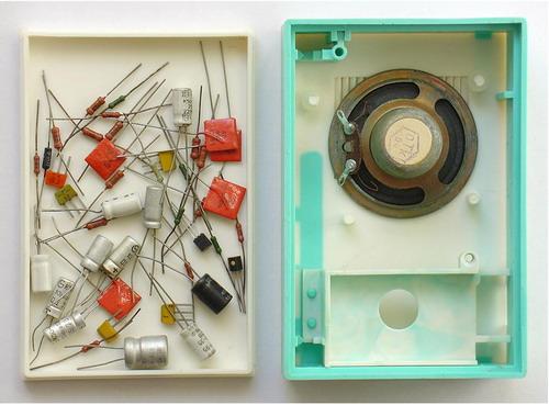 Радиоконструктор Мальчиш - корпус і радіодеталі
