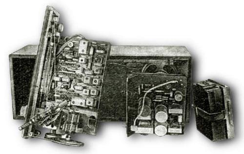 Радіо Мінськ-62 - схемотехніка