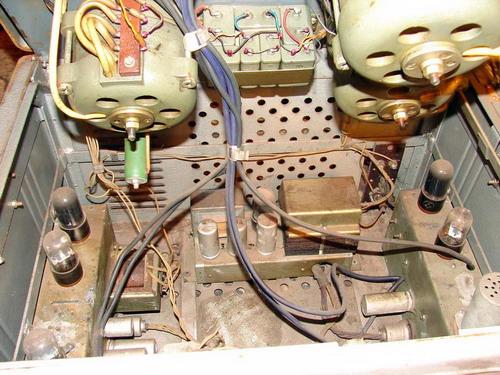 Ламповий магнітофон МАГ-8М-ІІ - схемотехніка
