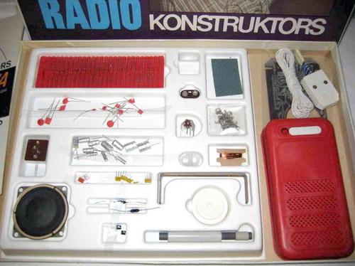 Радиоконструктор Пошук - набір
