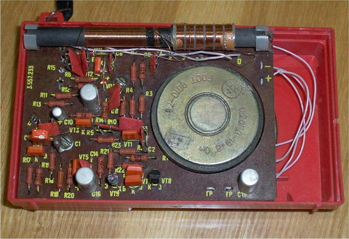 Дитячий радіоприймач Максимка - схемотехніка