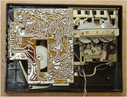 Електроніка-321, Електроніка-322 - схемотехніка