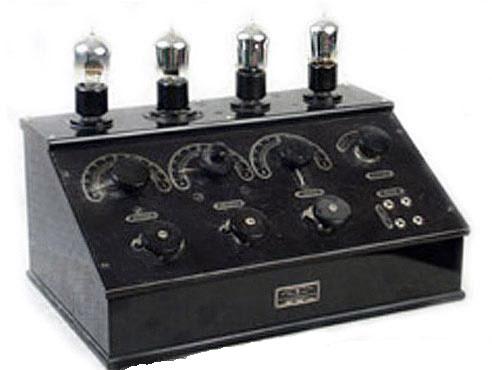 Ламповий батарейний радіоприймач БЧ