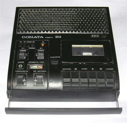 Магнітофон Соната-211