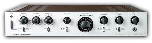 Кумир У-001-стерео - передня панель